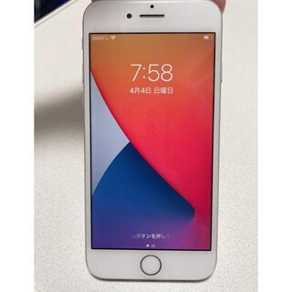 アップル(Apple)のiPhone 8 Silver 64 GB SIMフリー (スマートフォン本体)