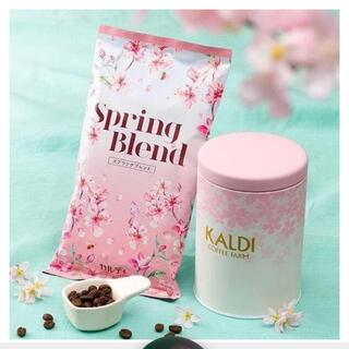 カルディ(KALDI)のKALDI 春のキャニスター缶セット(コーヒー)