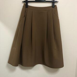 エムプルミエ(M-premier)のM-PREMIER カーキスカート(ひざ丈スカート)