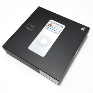 アイポッド(iPod)の「Apple」iPod nano 第1世代(ポータブルプレーヤー)