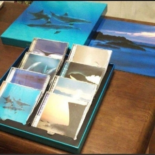 OCEAN BLUE リラクゼーション音楽集 CD8枚入り(ヒーリング/ニューエイジ)