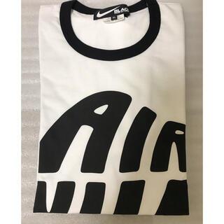 ブラックコムデギャルソン(BLACK COMME des GARCONS)のブラックコムデギャルソン×ナイキ NIKE Air オールドロゴ XL(Tシャツ/カットソー(半袖/袖なし))