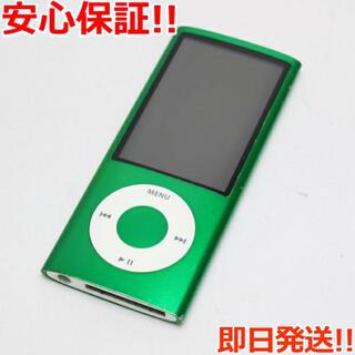アイポッド(iPod)の値下げ!良品中古 iPOD nano 第5世代 8GB  MC040J/A 本体(ポータブルプレーヤー)