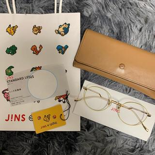 ジンズ(JINS)のJINS ポケモンモデル-FLAGSHIP MODEL ペールイエローピカチュウ(サングラス/メガネ)
