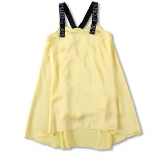 Branshes - RADCHAP 肩ベルトシフォン ジャンパースカート