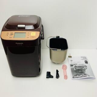 Panasonic - パナソニック ホームベーカリー 1斤タイプ ブラウン SD-BMT1001-T