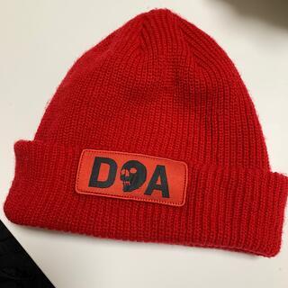ディーラックス(DEELUXE)のcapita doa ニット帽(ボード)