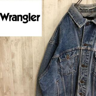 ラングラー(Wrangler)のラングラー デニムジャケット Gジャン アメカジ WESTERN ダメージ(シャツ)