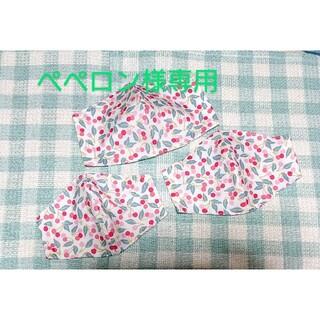 ペペロン様専用3枚幼児用「リバティプリント」を用いたハンドメイドインナーマスク(外出用品)