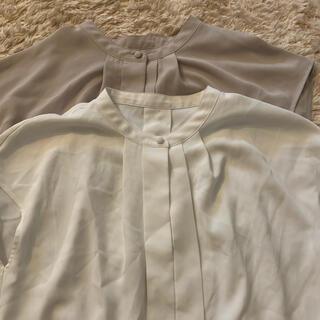 プラステ(PLST)のPLST ノースリーブブラウス(シャツ/ブラウス(半袖/袖なし))