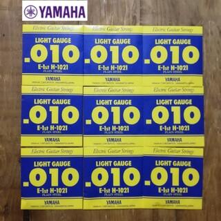 ヤマハ(ヤマハ)の✨即購入OK✨新品9本✨YAMAHA H1021 エレキギター用 バラ弦 1弦(弦)