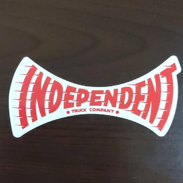 INDEPENDENT(インディペンデント)の(縦5cm横11.5cm) INDEPENDENT ステッカー スポーツ/アウトドアのスポーツ/アウトドア その他(スケートボード)の商品写真