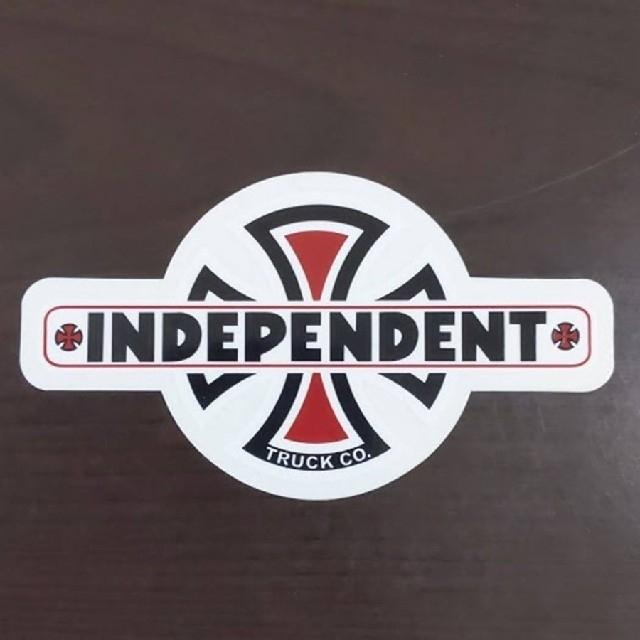 INDEPENDENT(インディペンデント)の(縦6cm横10.7cm) INDEPENDENT ステッカー スポーツ/アウトドアのスポーツ/アウトドア その他(スケートボード)の商品写真