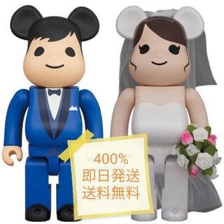 メディコムトイ(MEDICOM TOY)のBE@RBRICK グリーティング結婚 4 PLUS 400%(キャラクターグッズ)