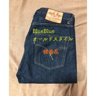 HOLLYWOOD RANCH MARKET - ★極美品 BlueBlueオールドスタイル ストレートジーンズ W31