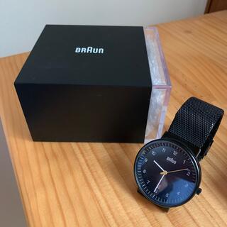 ブラウン(BRAUN)のBRAUN 腕時計 ブラウン時計 故障しています。(腕時計(アナログ))