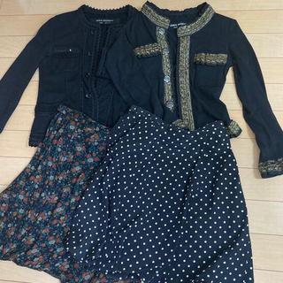 ジュンヤワタナベコムデギャルソン(JUNYA WATANABE COMME des GARCONS)のジュンヤワタナベ ジャケット、スカート、おまとめセット(ひざ丈スカート)