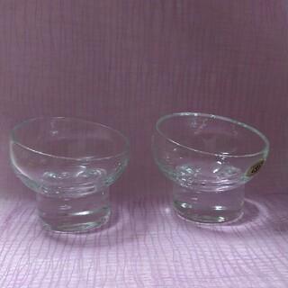 スガハラ(Sghr)のsghr デザートボウル 2客セット SUGAHARA GLASS(グラス/カップ)