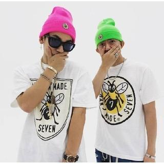 サンダイメジェイソウルブラザーズ(三代目 J Soul Brothers)のNAOTO着用 Tシャツ ニット帽 HUMANMADE STADIO SEVEN(ミュージシャン)