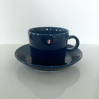 イッタラ(iittala)の未使用 廃盤 イッタラ ティーマ ブルー カップ&ソーサー (食器)