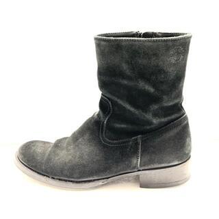 ブッテロ(BUTTERO)のブッテロ ショートブーツ 40 メンズ - 黒(ブーツ)