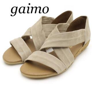 gaimo - 【新品未使用】ガイモ フラットサンダル