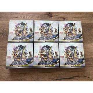 ポケモン(ポケモン)の新品未開封 シュリンク付き ドリームリーグ 6BOX ポケモンカード(Box/デッキ/パック)