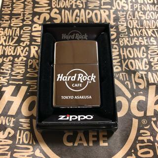 ジッポー(ZIPPO)のzippo ライター ハードロックカフェ浅草店限定 レア 新品未開封(タバコグッズ)