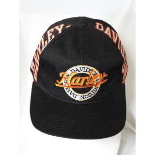 ハーレーダビッドソン(Harley Davidson)の90's・ハーレーダビッドソン・キャップ 帽子 ONE SIZE・新品・送料込(キャップ)