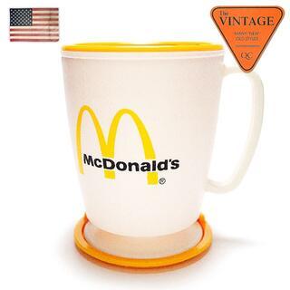 80sマクドナルドUSAヴィンテージオフィシャルコーヒーマグカップ蓋タンブラー(タンブラー)