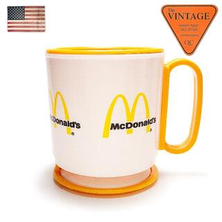 80sマクドナルドUSAヴィンテージオフィシャルコーヒー蓋マグカップタンブラー(グラス/カップ)