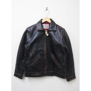 CALEE HORSE LEATHER JACKET 新品 M