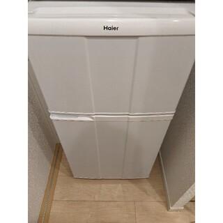 ハイアール(Haier)のHaier ハイアール 冷凍冷蔵庫 jr-n100c 霜付 2010年製(冷蔵庫)