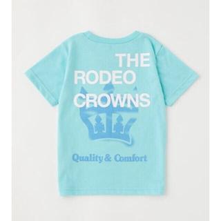 ロデオクラウンズワイドボウル(RODEO CROWNS WIDE BOWL)の☆RCWB キッズSpraycrownビッグTシャツ(Tシャツ/カットソー)