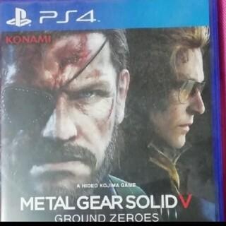 プレイステーション4(PlayStation4)のメタルギアソリッドV グラウンドゼロズ(家庭用ゲームソフト)