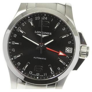 ロンジン(LONGINES)のロンジン コンクエスト  L3.687.4.76.6 メンズ 【中古】(腕時計(アナログ))
