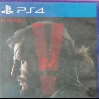 プレイステーション4(PlayStation4)のメタルギアソリッドV  ファントムペイン(家庭用ゲームソフト)