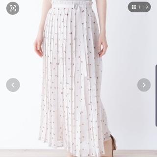 オペークドットクリップ(OPAQUE.CLIP)の柄 プリーツ スカート(ロングスカート)