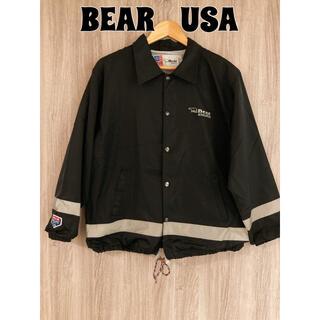 Bear USA - BEAR USA ベアー コーチジャケット ナイロンブルゾン