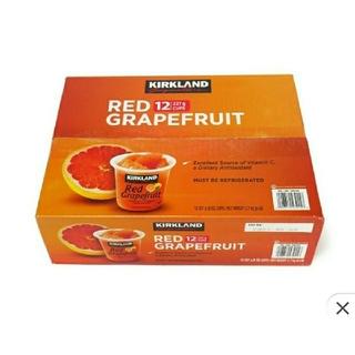 コストコ(コストコ)のコストコ レッドグレープフルーツ  シロップ漬け 12カップ(フルーツ)