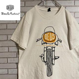 Deus ex Machina - 90s 古着 デウスエクスマキナ USA製 Tシャツ ビッグプリント