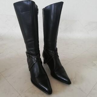 エレガンスヒミコ(elegance卑弥呼)の良品!!elegance卑弥呼 本革ブーツ 23cm(ブーツ)