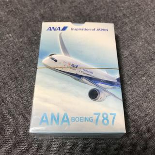 エーエヌエー(ゼンニッポンクウユ)(ANA(全日本空輸))の【新品未開封】ANA BOEING 787 トランプ 非売品(トランプ/UNO)
