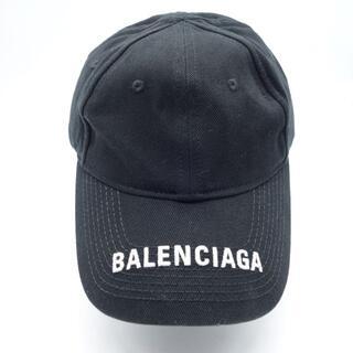 Balenciaga - BALENCIAGA CAP IN BLACK バレンシアガ ロゴ 刺繍 大名