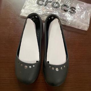 crocs - クロックス マリンディ ブラック バレエシューズ