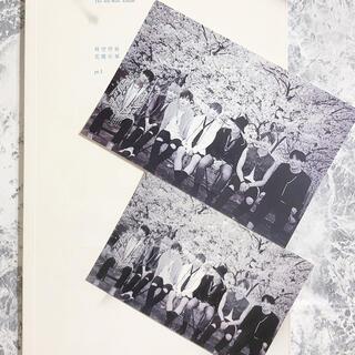 ボウダンショウネンダン(防弾少年団(BTS))のBTS✨花様年華pt.1✨韓国版✨購入特典セット✨フォトカード&ミニフォト(アイドルグッズ)