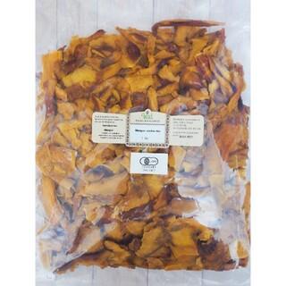 【お得な訳アリ品】有機JAS認証!ガーナ産オーガニックドライ完熟マンゴー1kg(フルーツ)