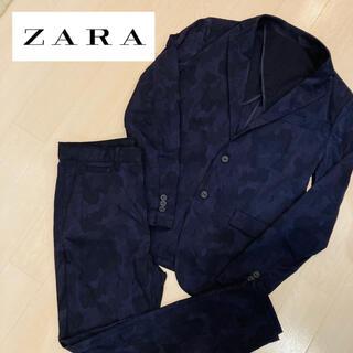 ザラ(ZARA)の【人気商品】ZARA MAN/セットアップ スーツ/迷彩柄(セットアップ)
