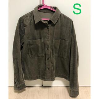 ジーユー(GU)のGU コーデュロイジャケット シャツ ジャケット アウター(その他)