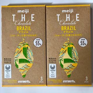 メイジ(明治)の2個セット meiji THE Chocolate ブラジル フルーティな香り(菓子/デザート)